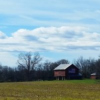 Beautiful local barn.