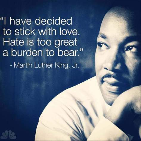mlk quote stick with love