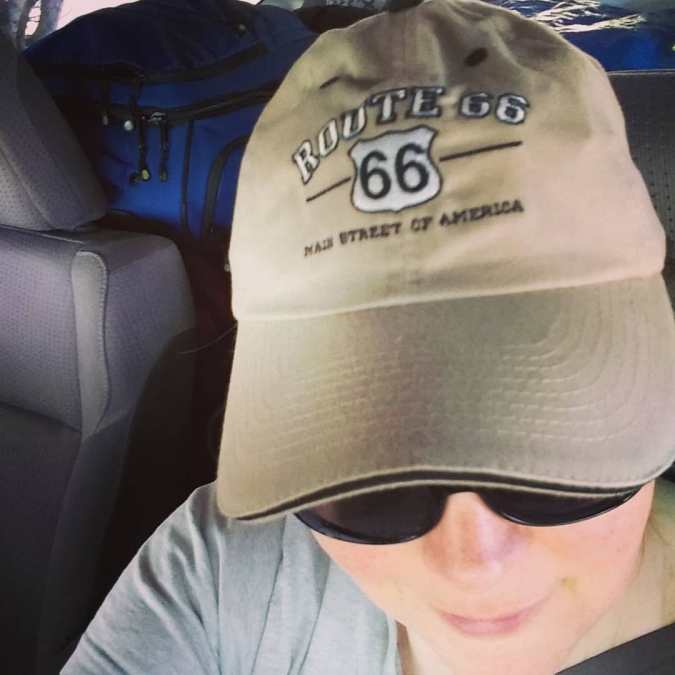 Road trip ballcap - everybody needs one!